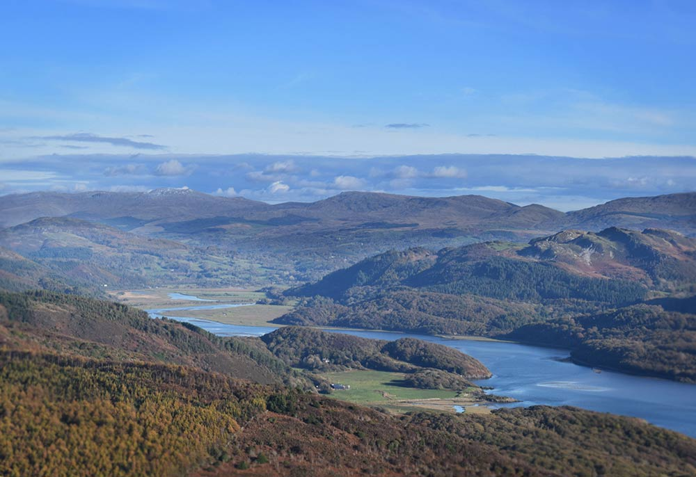 View of the Mawddach Estuary